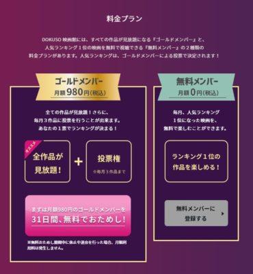 インディーズ映画好き必見!動画配信サービス『DOKUSO映画館』の6つの特徴と登録方法・無料トライアルの仕方